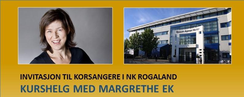 Dirigentsamling og korseminar i Stavanger 4.-6. mars 2016